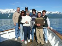 On our Alaska Yacht Charters we'll see Glaciers and beautiful scenery