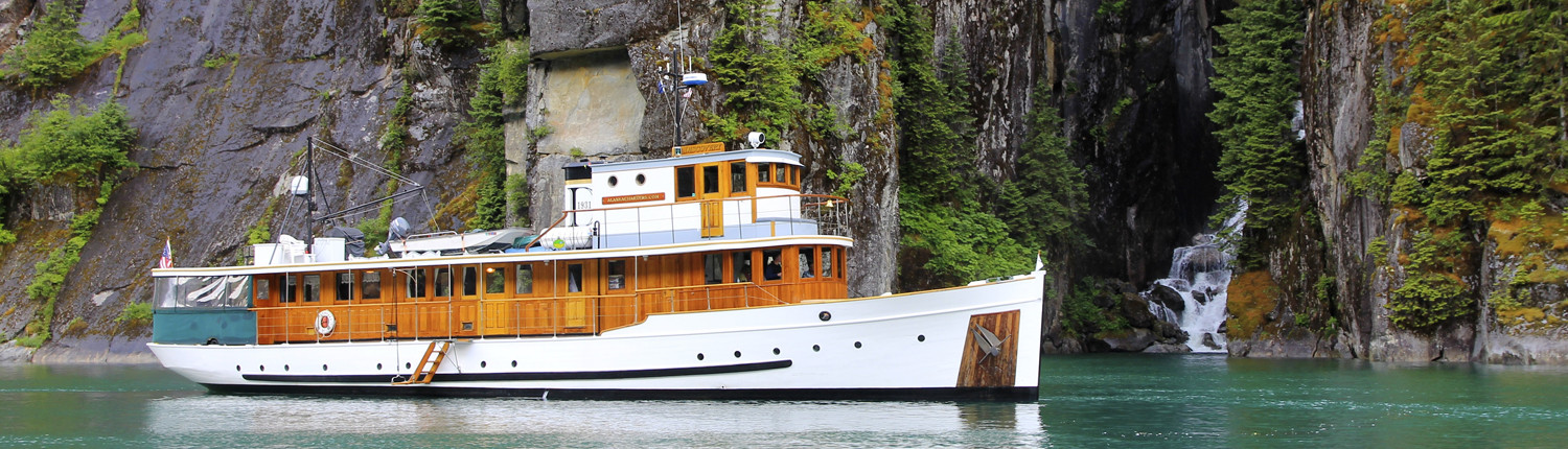 Alaska Inside passage Cruises on The Classic Yacht Discovery