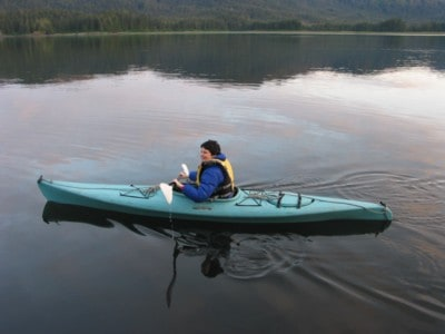 On our Alaska Cruises you can Kayak in a secluded harbor