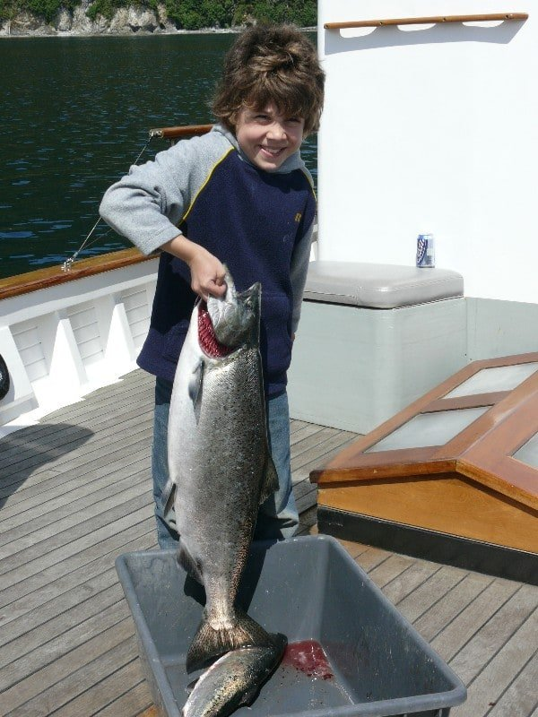 On our Alaska Small Ship Cruises you'll have the opportunity to catch salmon, halibut, Dungeness Crabs and Shrimp