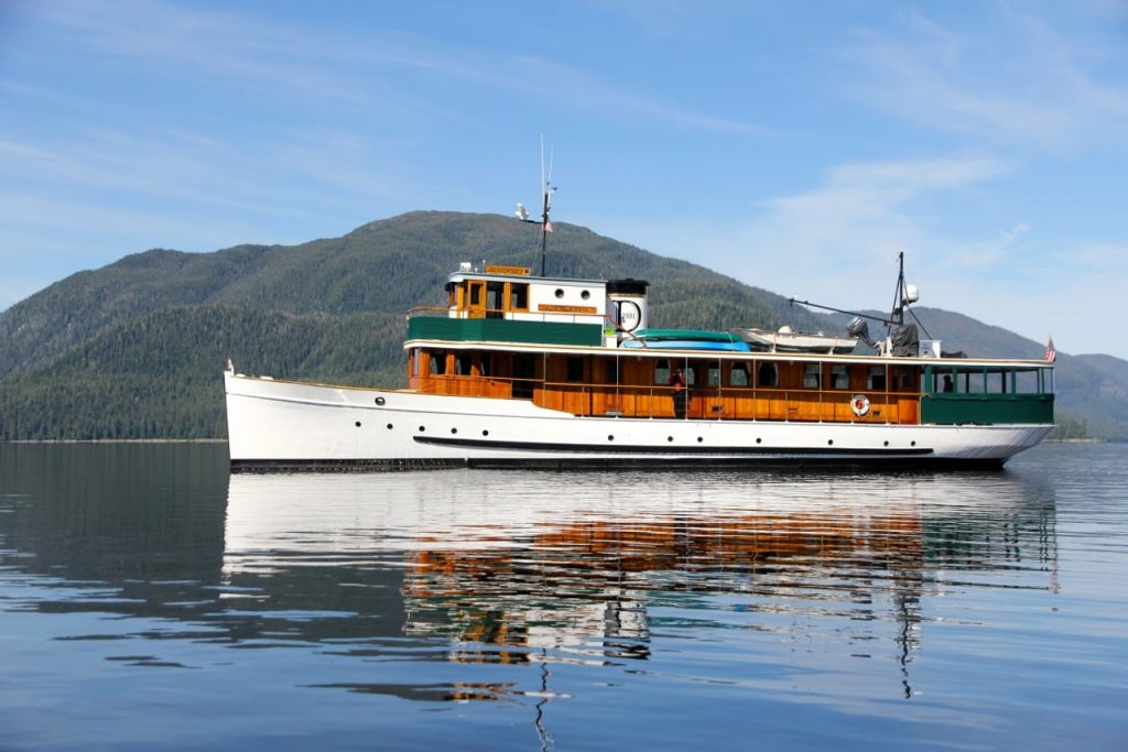 The Classic Yacht Discovery is the perfect vessel for an Alaskan Adventure Cruise