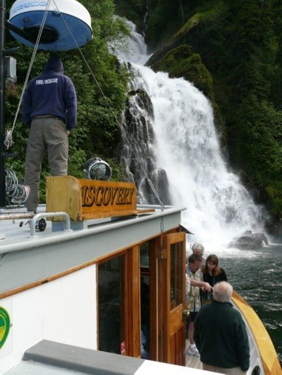 One of Ben's favorite anchorages on our Alaska Cruises