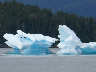 Ice Bergs are really so beautiful and unique an on our Alaska Inside Passage small ship Cruises we'll have the opportunity to see them in Tracy and Endicott Arms